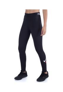 Calça Legging Nike One Tight Icon Clash - Feminina - Preto
