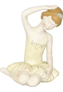 Escultura Decorativa Bailarina