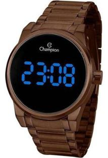 Relógio Champion Digital Ch40124R Feminino - Feminino-Marrom