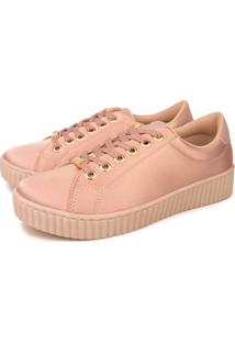 Tênis Trivalle Shoes Casual Nude
