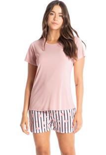 Pijama Bermuda Estampado Taís