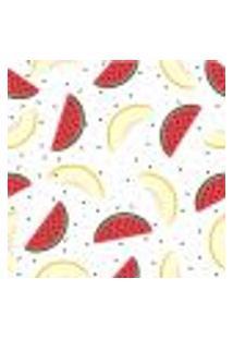 Papel De Parede Autocolante Rolo 0,58 X 5M - Melancia Melao Frutas 209685928