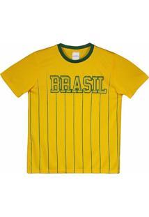 Camisa Brasil Xingu Infantil - Masculino