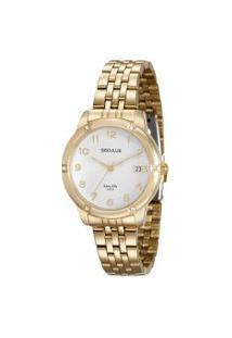 Relógio Analógico Seculus Feminino - 20536Lpsvda1 Dourado