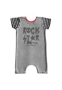 Pijama Curto Comfy Rock Star