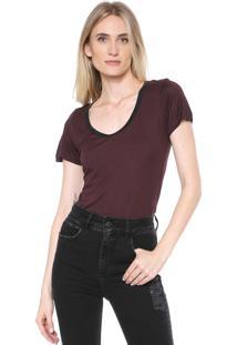 Camiseta Forum Lisa Marrom