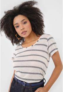 Camiseta Forum Listrada Off-White - Kanui