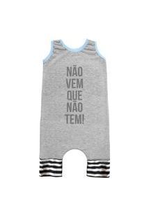 Pijama Regata Comfy Náo Vem