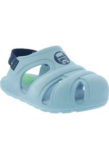 Babuche Infantil Mundo Bita Comfy Azul Azul