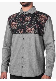 Camisa 1/3 Floral 200096
