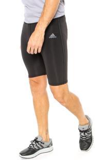 Short Adidas Performance Rensponse Preto