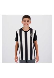 Camisa Atlético Mineiro Change Infantil Preta