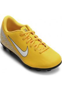 Chuteira Infantil Campo Nike Mercurial Vapor Xii Neymar