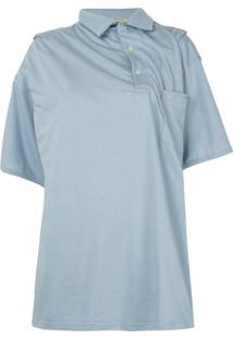Y/Project Camisa Polo Infinity - Azul