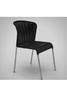Cadeira Noa Junco Sintético Estrutura Em Aço Design Exclusivo By Studio Artesian