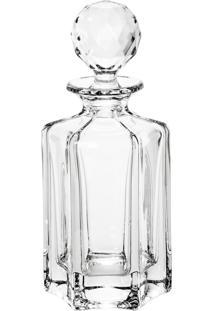 Garrafa Para Whisky De Cristal Victoria 550Ml Bohemia