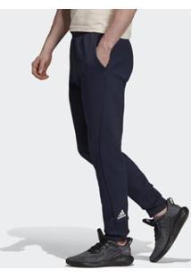 Calça Vrct Adidas Masculina - Masculino-Azul