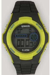 Relógio Digital Speedo Feminino - 81121G0Evnp1 Preto - Único