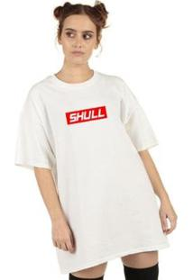 Camiseta Skull Red Feminina - Feminino