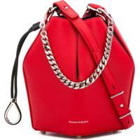 2e7fb560b5 Alexander Mcqueen Small Bucket Bag - Vermelho