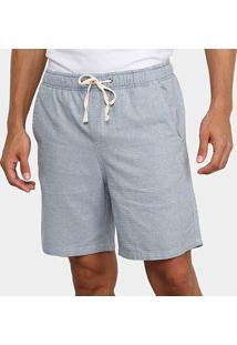 Bermuda Calvin Klein Básica Com Bolsos Masculina - Masculino