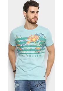 34c4771e0 Camiseta Colcci Tropical Floral Masculina - Masculino