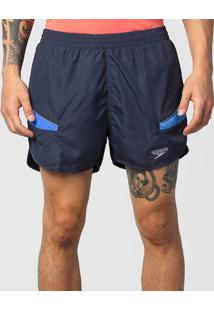 Shorts Masculino Running Laser Azul M - Speedo