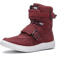 eaf994324b97e Tênis Cano Longo Marsala feminino | Shoes4you