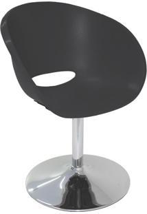 Cadeira Elena Base Central Preto
