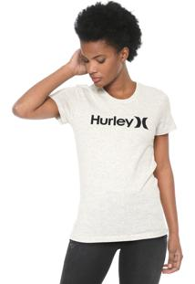 Camiseta Hurley One & Only Cinza