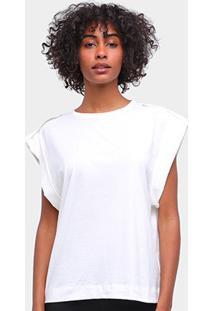 Camiseta Forum Feminina - Feminino-Areia