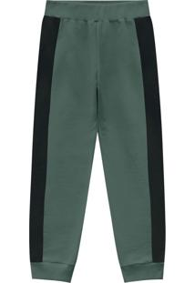 Calça Infantil Masculina Verde