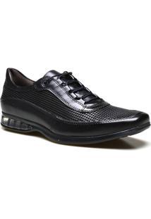 698b37a31 Sapato Casual Masculino Calvest Supertech Em Couro - Masculino