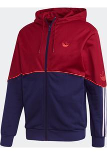 Jaqueta Adidas Outline Fz Ft Originals Bordô