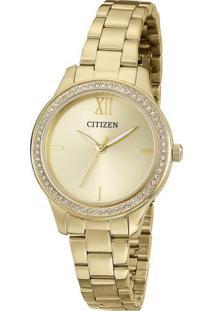 Relógio Analógico Tz28333G- Dourado- Citizencitizen