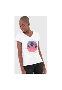 Camiseta Guess Palm Los Angeles Branca