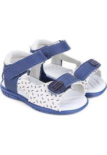 Sandália Infantil Pimpolho Estampada Velcro - Masculino
