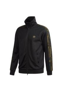 Jaqueta Adidas Camo Tt Originals Preto