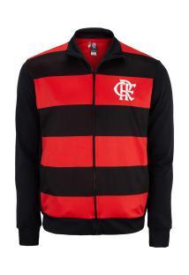 Jaqueta Do Flamengo Middle 20 - Masculina - Preto/Vermelho