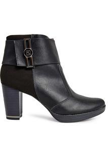 Bota Ankle Boot Piccadilly Feminina 335035