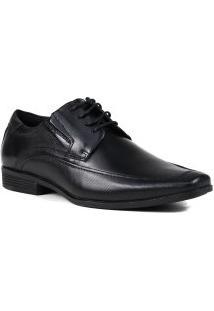 Sapato Ferracini Social Liverpool Cadarço Couro