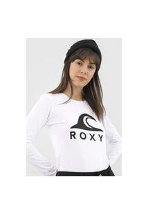 Camiseta Roxy With You Could Branca