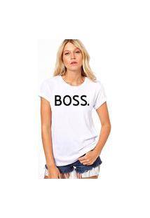 Camiseta Coolest Iza Boss Branco