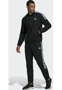 Agasalho Adidas Light Woven Masculino - Masculino-Preto