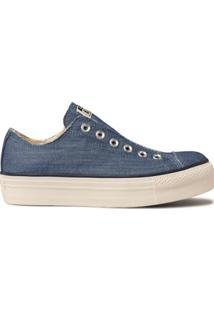 Tênis Converse Chuck Taylor All Star Platform Ox - Feminino-Jeans