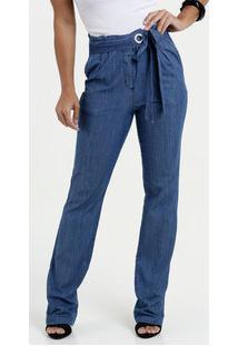 7b8188f85f Calça Feminina Jeans Clochard Flare Gups