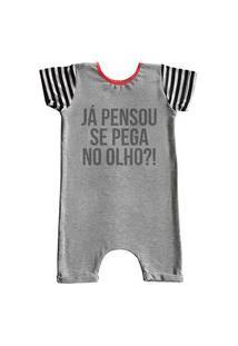 Pijama Curto Comfy Olho