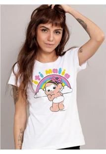 Camiseta Bandup! Turma Da Mônica It Malia - Feminino