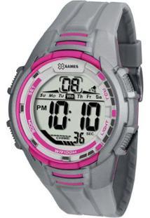 Relógio Feminino X-Games Digital Xmppd380/Bxqx - Unissex-Cinza