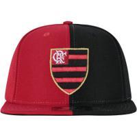 Boné Aba Reta Do Flamengo 6G Logo Bicolor 03 Starter - Snapback - Adulto -  Preto 606a60817668e